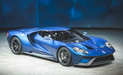 """2017 Ford GT: The Star-Spangled, 600-plus-hp Hypercar! - This GT, on the other hand, reads like those original GT40s in that it's an unmistakable shot across the bows of the world's preeminent supercar makers. It's as if Ford's engineers got punch-drunk on performance after churning out the Shelby GT350 and the new F-150 Raptor, turned to one another and asked, """"What's next?"""" The answer, of course, was to once again take aim at the big guns from Europe."""