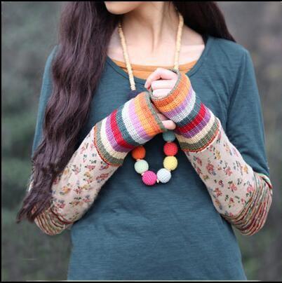 Мори девушка опрятный стиль трикотажные рубашки с длинными рукавами основные лоскутная хлопок футболки бренди мелвилл женщины повседневная туника топы clothing