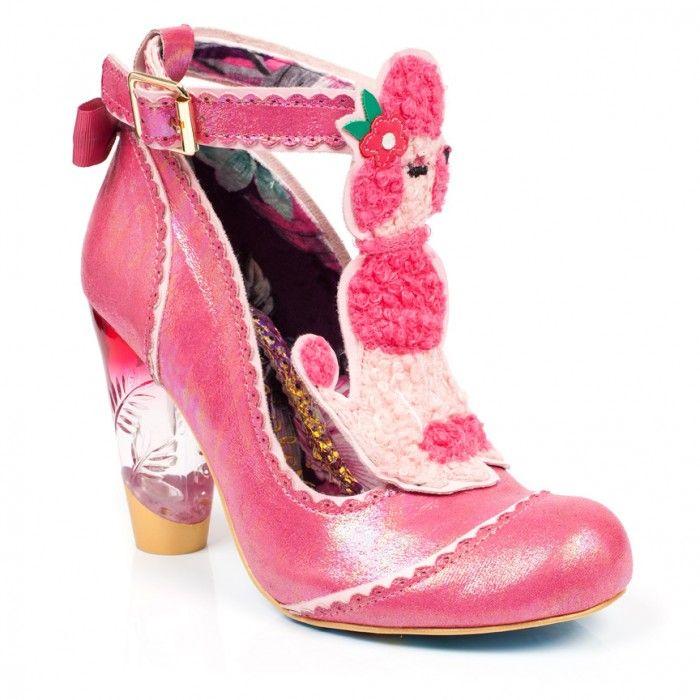 Escarpins Bout fermé Femme - Rose - Rose (Pink Floral W), 38Irregular Choice