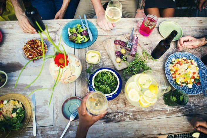 Enkle knep for en sunnere og bedre fest. A healthy party