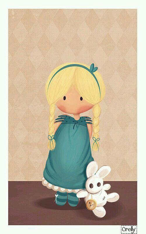 Alice e o coelhinho branco