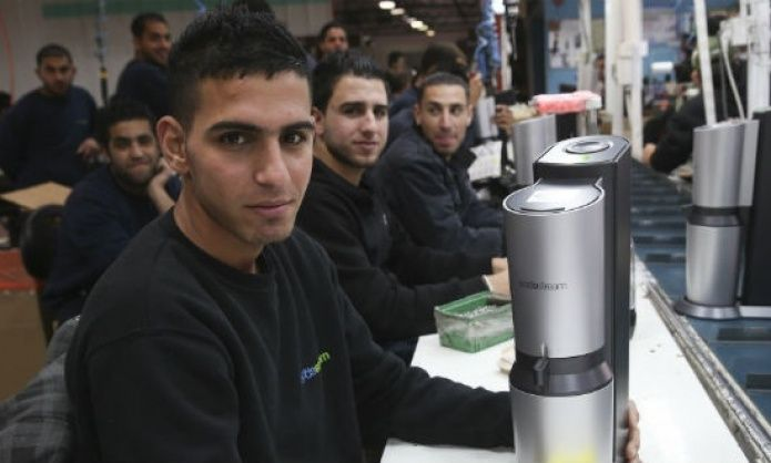 The workers in the controversial SodaStream plant are overwhelmingly Palestinian