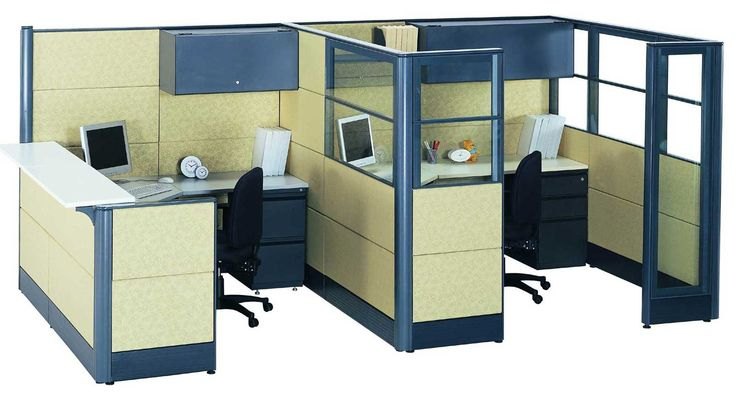 All the office cubicle arrangements in the pictures below have a contemporary feel to complement your ideas. Description from guatacrazynight.com. I searched for this on bing.com/images