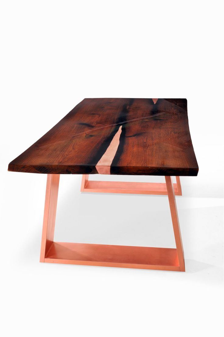 Luxury Live edge Dining Table SARMA. Modern Dining by Railis