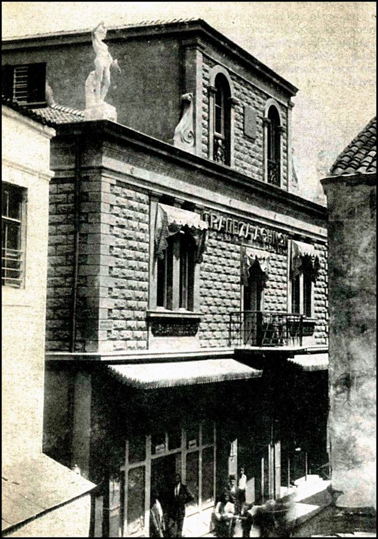 A branch of the Bank of Athens in Trapezunta (Trabzon) c1915. The building was designed by architect DImitrios FIlizis.