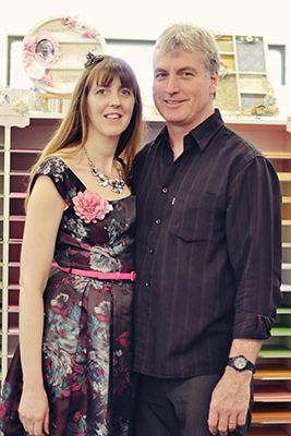 Paper Flourish: 3rd Birthday High Tea, Peter & Tracey Schulz