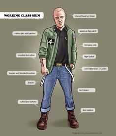 skinhead clothing - Google Search