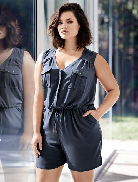Ladies | H&M+ Plus Sizes | Bottoms | H&M GB