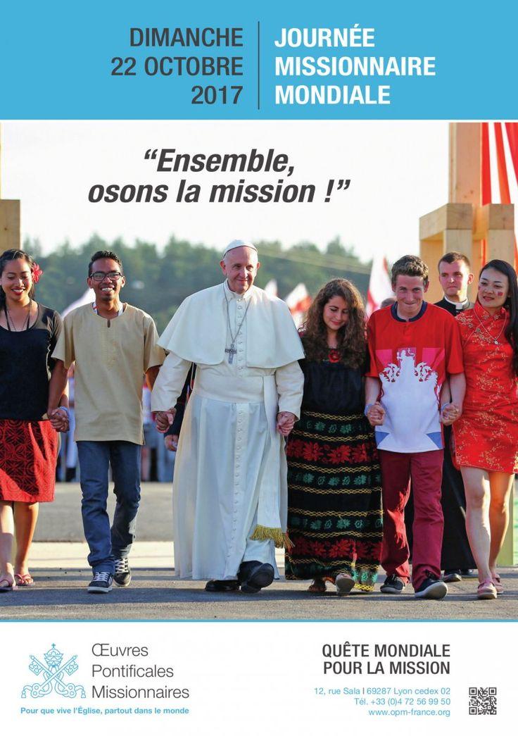Cette journée ravive auprès des catholiques du monde entier la solidarité avec les églises locales de tous les continents afin de les soutenir dans leur mission d'évangélisation. Une quête aura lieu dans les paroisses.