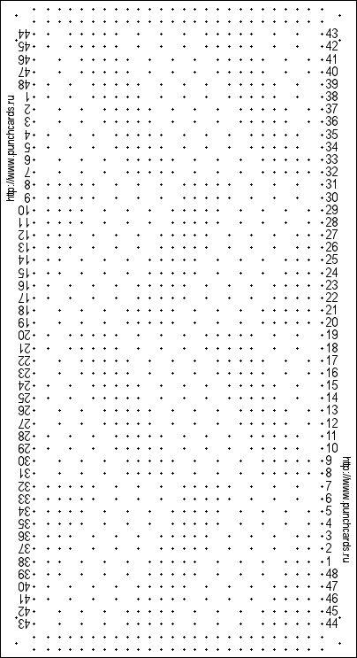 Bild anzeigen Lochkarte mit 24 Schlaufen rapport, Zentral zwei Fontoura, gestanzte Druckkarten                                                                                                                                                                                 Mehr