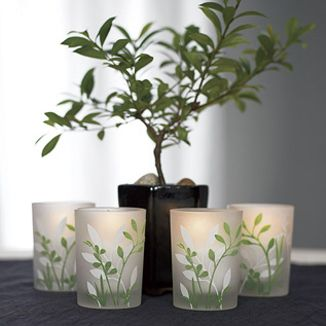 votive candle holders for centerpieces and favors?