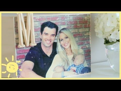 DIY | Photo Transfer to Wood! - YouTube