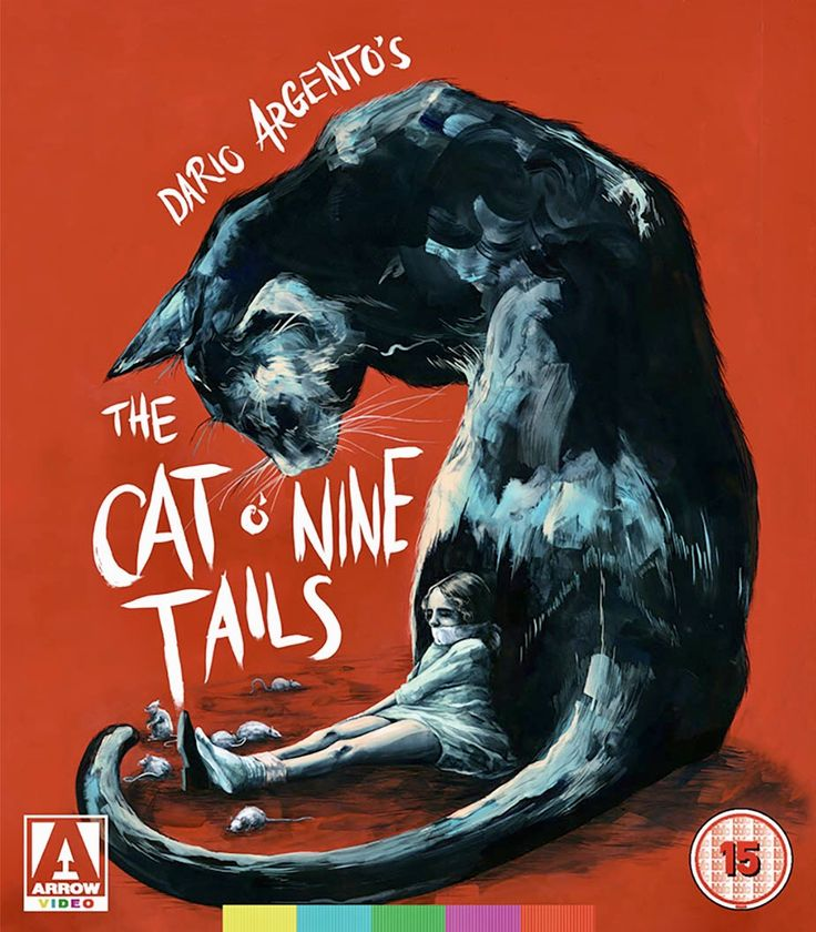 Movie poster Cat o' nine tails, Cat of nine tails, Blu