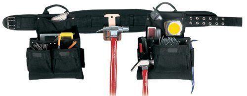 Leather Carpenters Belt Padded 29-49 Inch Waist