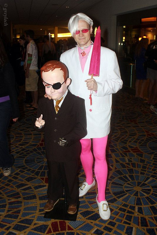 Pete White And Master Billy Quizboy Cosplay Comic Con Cosplay