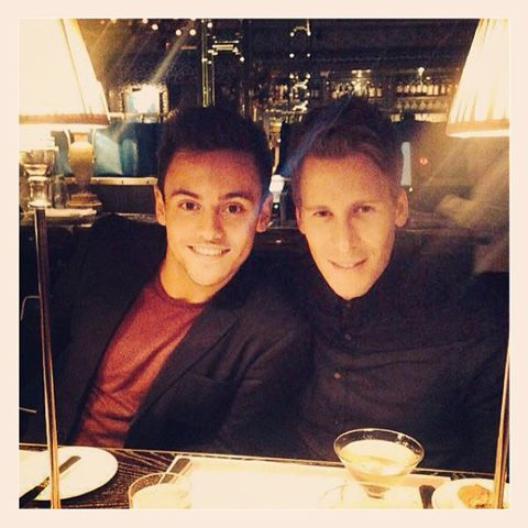 Tom Daley Posts First Photo with Boyfriend Dustin Lance Black to Instagram| Gay News | Towleroad