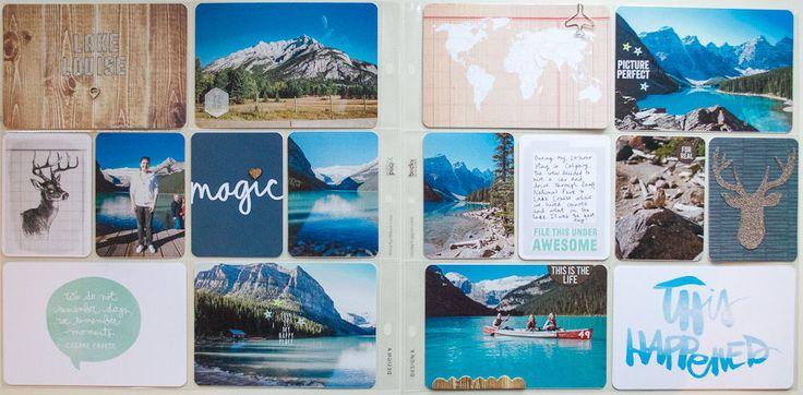 Travel album | Lake Louise by StephBaxter at @studio_calico