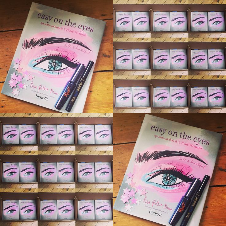 "This is my first ever make up book! #Easyontheeyes. Yay! Whether you have no time or loads of time, there's an eye make up look for you!  To learn more about my book, check out my ""Big reveal"" by tapping on the pic! I also have a board dedicated to the book! If you've always wanted to learn how to do a smoky eye or a classic flick, with over 20 make up looks, this is your book!!! Out Sept 10th. £14.99 xx #learnwithlisa"