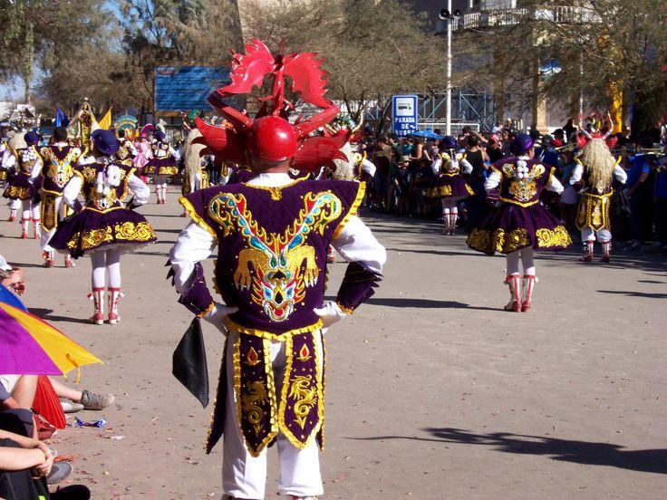 baile fiesta religiosa de Iquique, a la Virgen de La Tirana, Chile