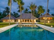 Villa Sepoi Sepoi in Lombok (i.e. extra flight from Bali to Lombok thn drive) 5-6 brms ($1165 USD / nt, $915 USD/nt after 1 Sept) + 15.5% service tax (incl tfers, chef and car)  http://www.sepoi-sepoi.com
