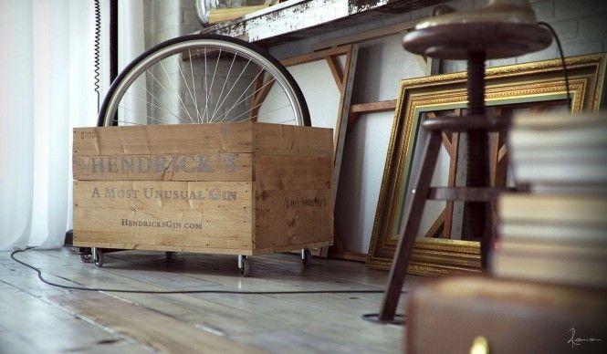 라이프 스타일을 디자인하다 :: EUNYU :: 인더스트리얼 빈티지 침실 인테리어 디자인 :: 아파트 인테리어