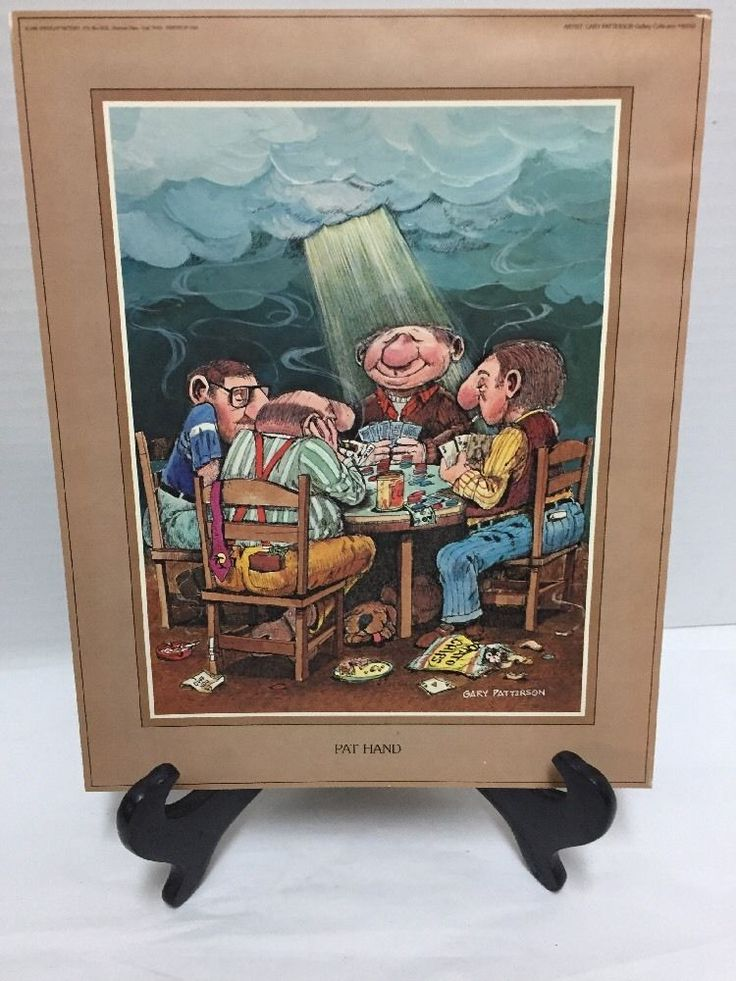 Gary Patterson Pat Hand Humor Print Playing Cards 1980