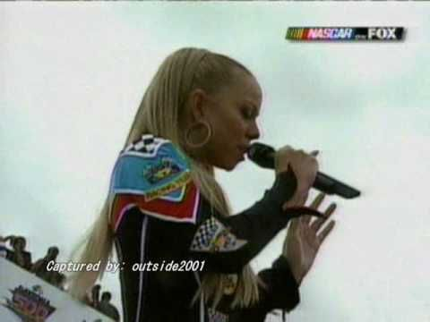 "Mariah Carey sings ""The Star Spangled Banner"" - my second - most fave rendition of the American National Anthem, of all time."