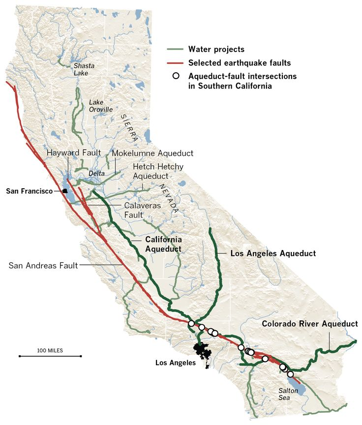 Earthquake threats to California's water - LA Times