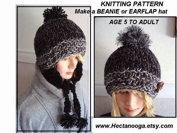 Hat Knitting Pattern  hat  pdf  num 423 flat knit by Hectanooga, $4.99 https://www.etsy.com/listing/82868934/hat-knitting-pattern-hat-pdf-num-423?ref=shop_home_active_12