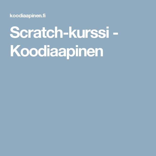 Scratch-kurssi - Koodiaapinen