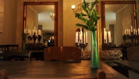 Roberts Restaurant. Mehr auf: http://www.coolibri.de/redaktion/711/roberts-essen-trinken.html