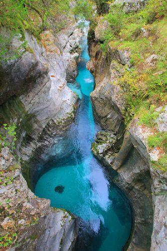Great Soča Gorge (1h), Kobarid, Triglav National Park, Julian Alps, Slovenia
