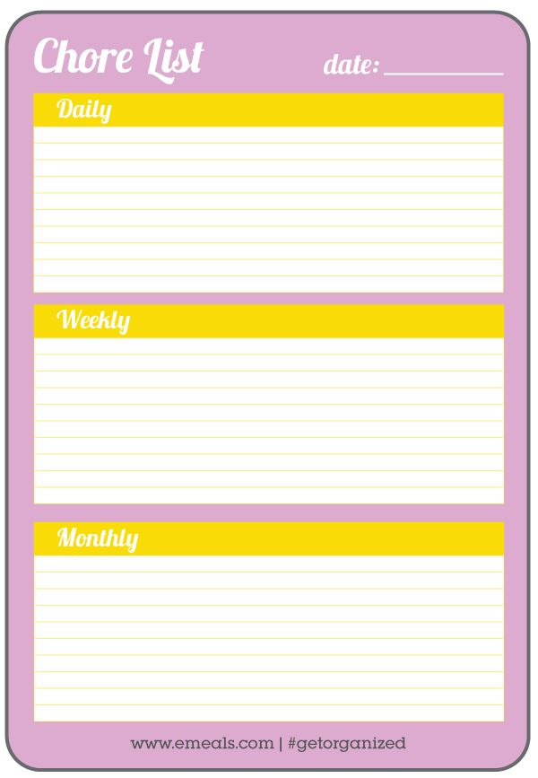 Best Printable Shopping Lists  Graphs Images On