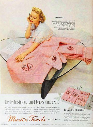 Martex Towels, June 1950 | Flickr - Photo Sharing!