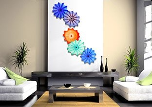 Color Burst: Hand Blown Glass Wall Installations, http://www.myhabit.com/ref=cm_sw_r_pi_mh_ev_i?hash=page%3Db%26dept%3Dhome%26sale%3DA381P6G5Q338P7