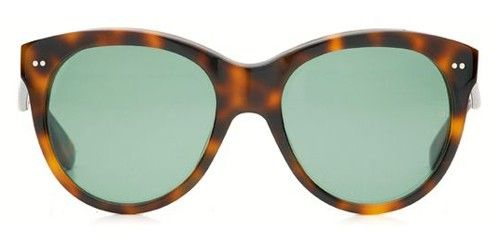 Oliver Goldsmith Icons Manhattan Dark Tortoiseshell Sunglasses Size 55