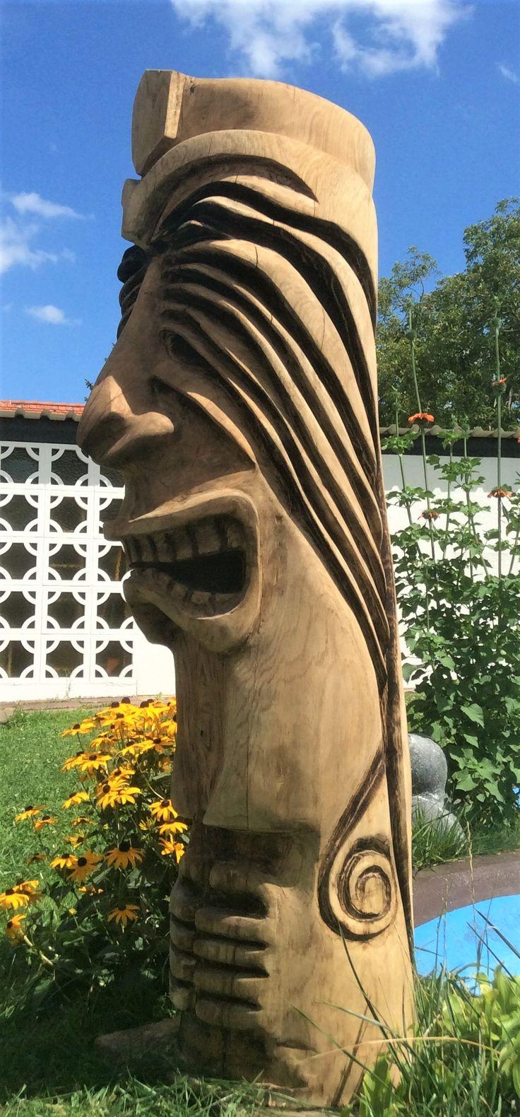 Besten tiki bilder auf pinterest holzskulpturen