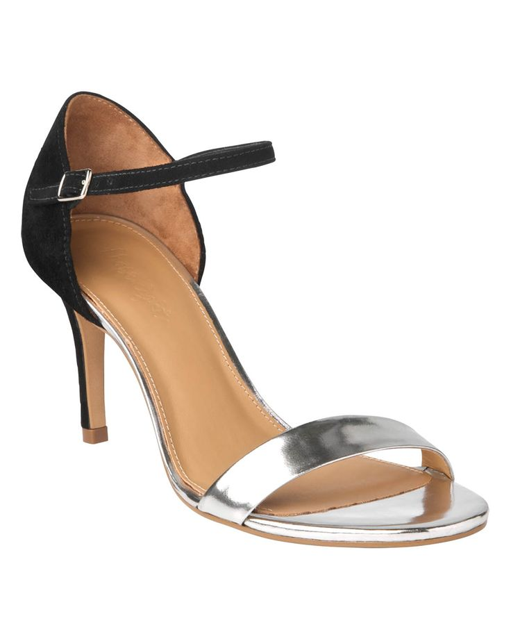 All Accessories   Black Selina Metallic Strappy Sandals   Phase Eight