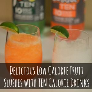 Delicious Low Calorie Fruit Slushes with TEN Calorie Drinks #FlavorforLess #PMedia #ad - Craft Dictator