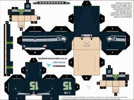 Matt Flynn Seahawks Cubee by etchings13
