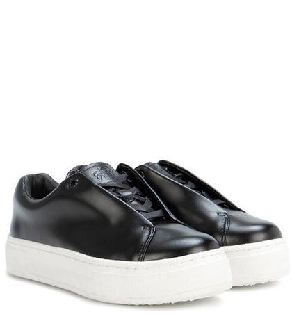 Eytys Doja Leather Sneakers For Spring-Summer 2017
