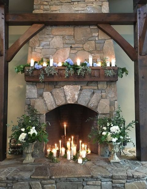 50 Wedding Fireplace Decor Ideas | HappyWedd.com