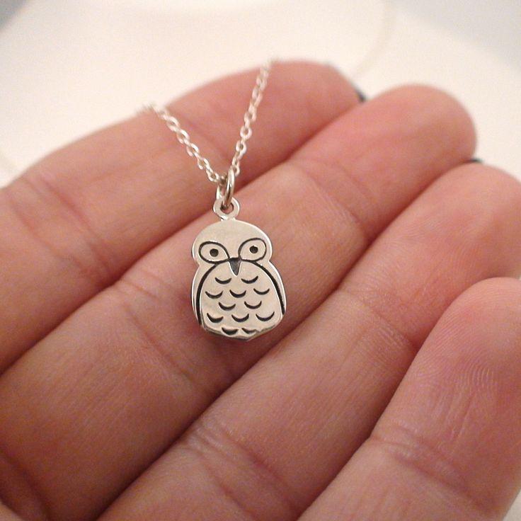 FashionJunkie4Life - Sterling Silver Owl Charm