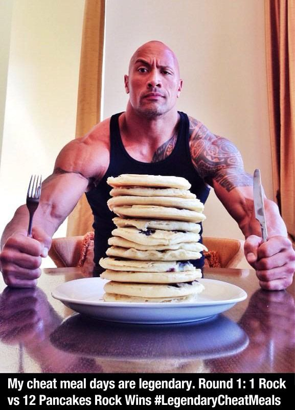 """Fun fact. """"The Rock"""" has single handedly contributed more to make a wish foundation than anyone else on the face of this earth."""