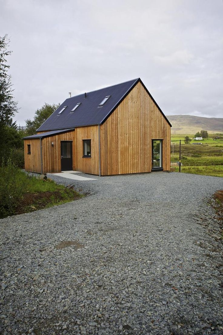 From the Isle of Skye comes the R.House by Rural Design Architects, a line of affordable prefabricated homes designed to fit in with the vernacular architecture and landscape of Skye