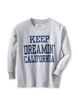 67% OFF Little Dilascia Kid's Keep Dreamin' Long Sleeve Tee (Grey)
