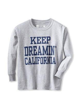67% OFF Little Dilascia Kid's Keep Dreamin' Long Sleeve Tee (Grey)