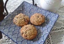 Biscotti con Avena e Cioccolata – Oat and Chocolate Biscuits
