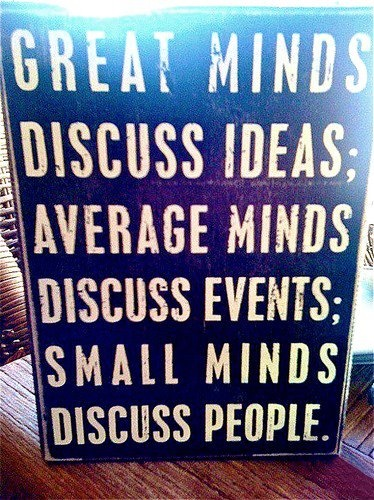 Great minds and Small minds: Favourit Quotations, Small Mind, Inspirational Quotes, Truths, Books Quotes Etc, Favorite Quotes, Photo, Average Mind, Inspiration Quotes