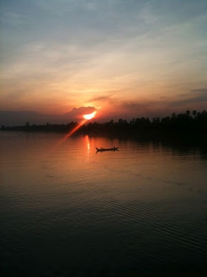 The Mekong, as seen from a river cruise